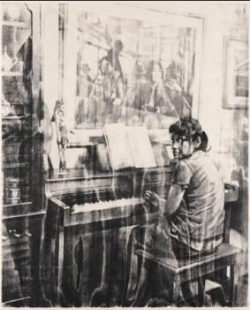 Piano-Jin (czarne)