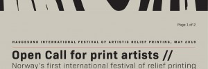 [Weź udział w] Haugesund International Festival of Artistic Relief Printing